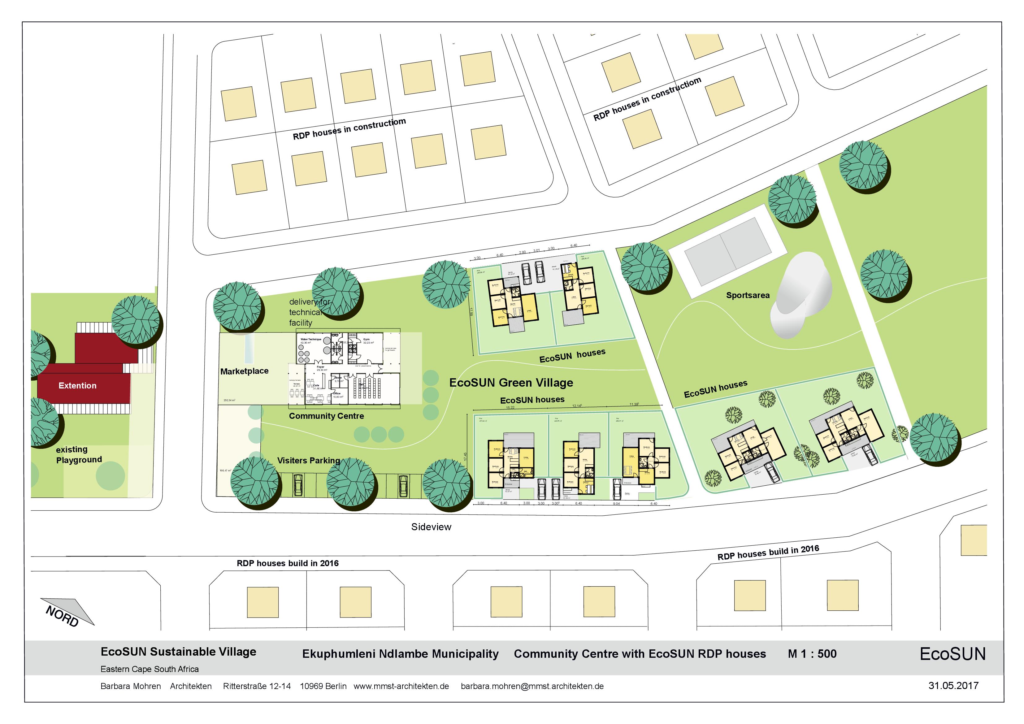 Mmst Architekten ecosun green villages ecosun sustainable villages